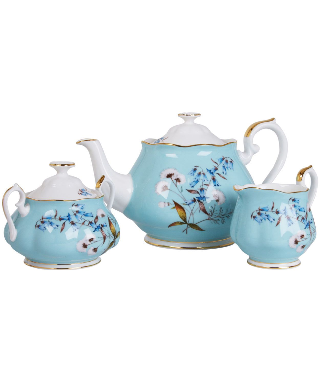 Teekannen Set 1950 Festival Three Piece Tea Set Royal Albert Shop More From