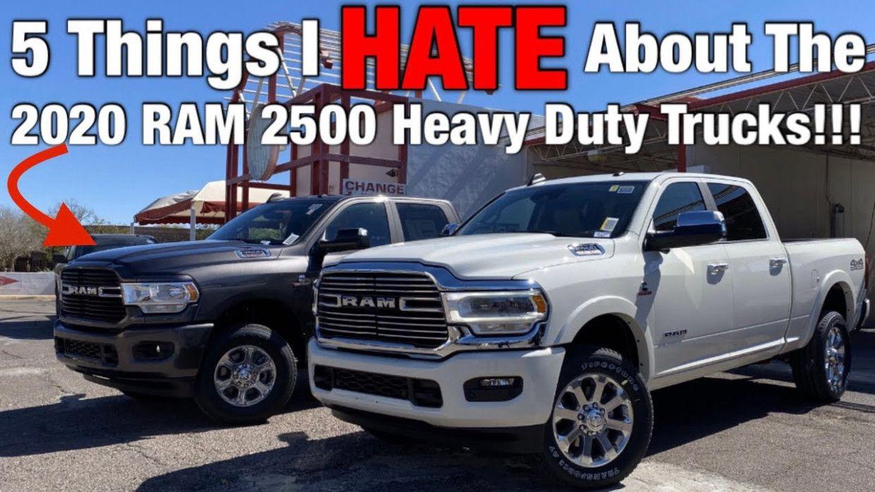 2021 Dodge Ram 2500 Cummins Performance And New Engine