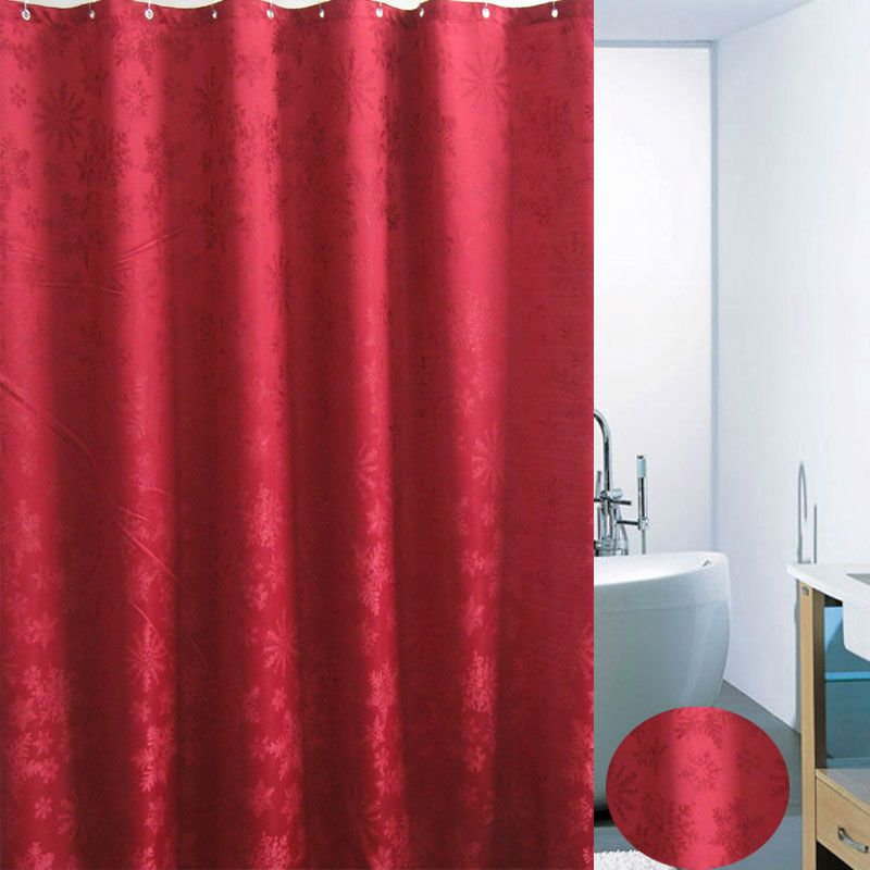 Burgundy Shower Curtain Decorating Bathrooms With Rich Darker Colors Is An Option For Owners Jewel Tones Like Make A Unique Statement To Bath