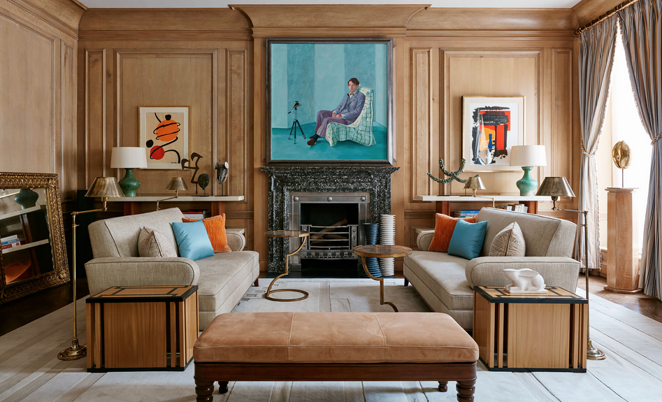 A New York Townhouse That S London Style In Many Ways New York