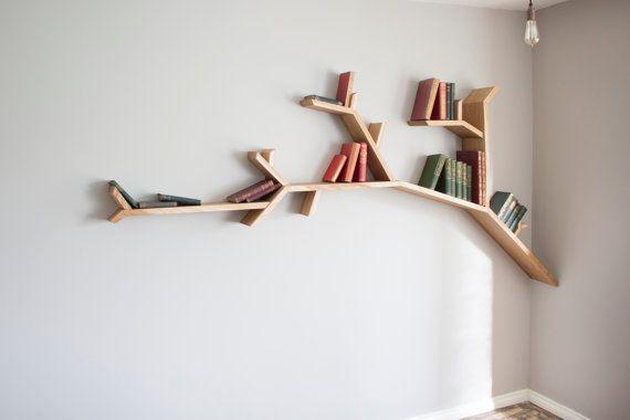 The Oak Tree Branch Shelf 2 4m Size Idees Etageres Etagere Murale Design Deco Rangement