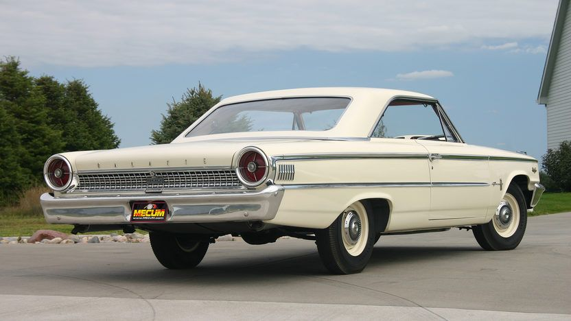 1963 Ford Galaxie Lightweight F305 Indy 2012 In 2020 Ford Galaxie Galaxie Cool Old Cars