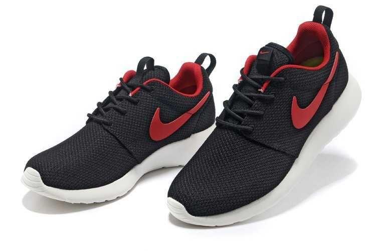 Nike Roshe - Run - Yeezy Mens Black Red