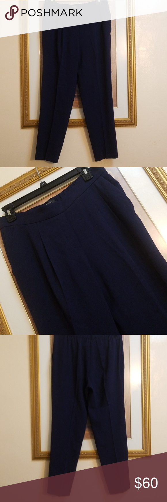 28fcdf4cc718 BARBATON NAVY PANT SIZ E 35 inches long in perfect conditions babaton Pants