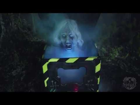 Cryo Chamber Corpse - Spirit Halloween - YouTube Halloween- Mad - frozen halloween decorations