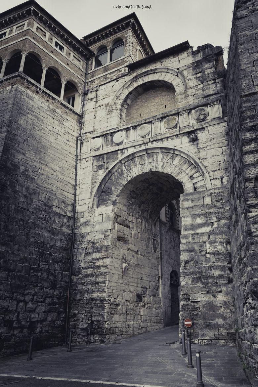 Perugia Arco Etrusco By Evghenia Petrushina On 500px Arco