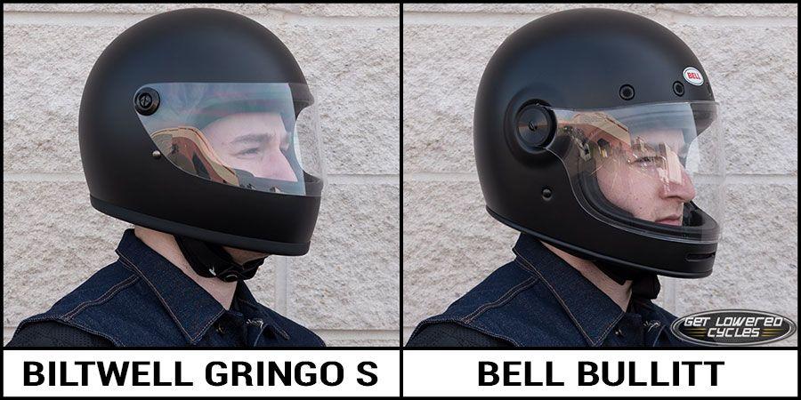 ee65f821 Biltwell Gringo S and Bell Bullitt Helmet Comparison   motorcycles ...