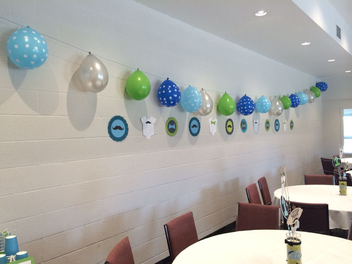 Diy Birthday Party Matteo S First Wall Decor Rosa