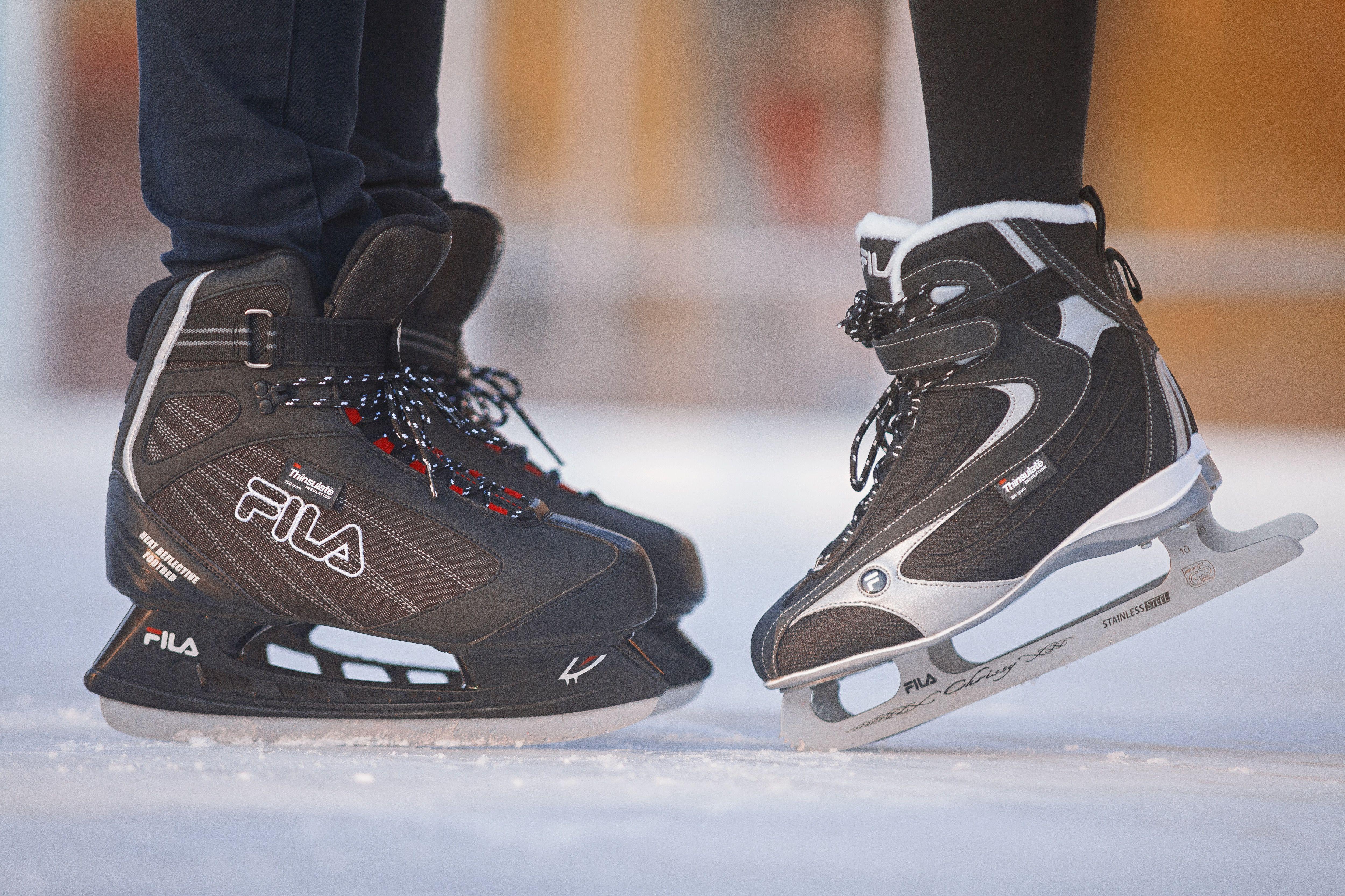 38c77ef55b7b Winter mood  skates  ice  skating  fila  chrissy  justin