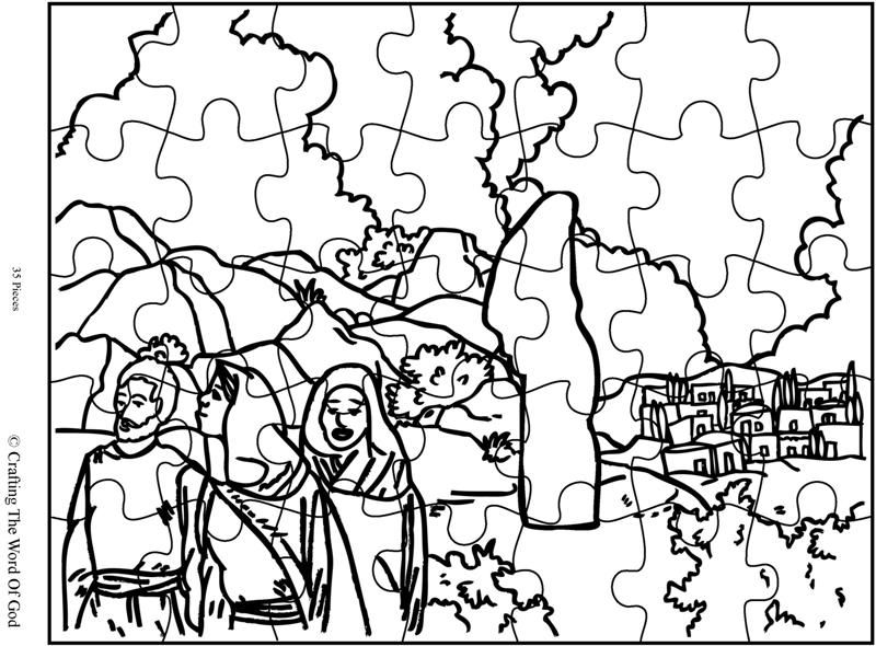 Lots Wife Puzzle (Activity Sheet) Activity sheets are a