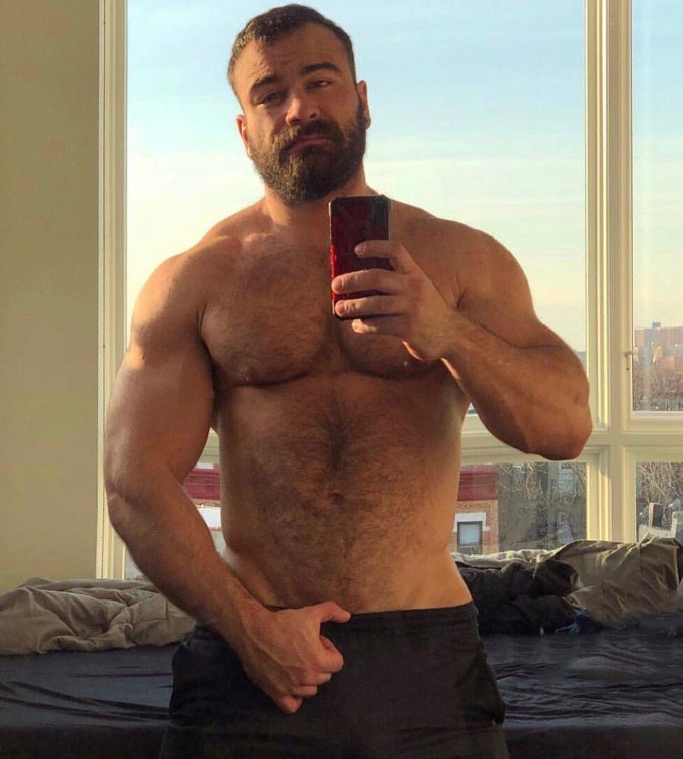 hairy chest - sexy muscle - mature men | bradonje | pinterest