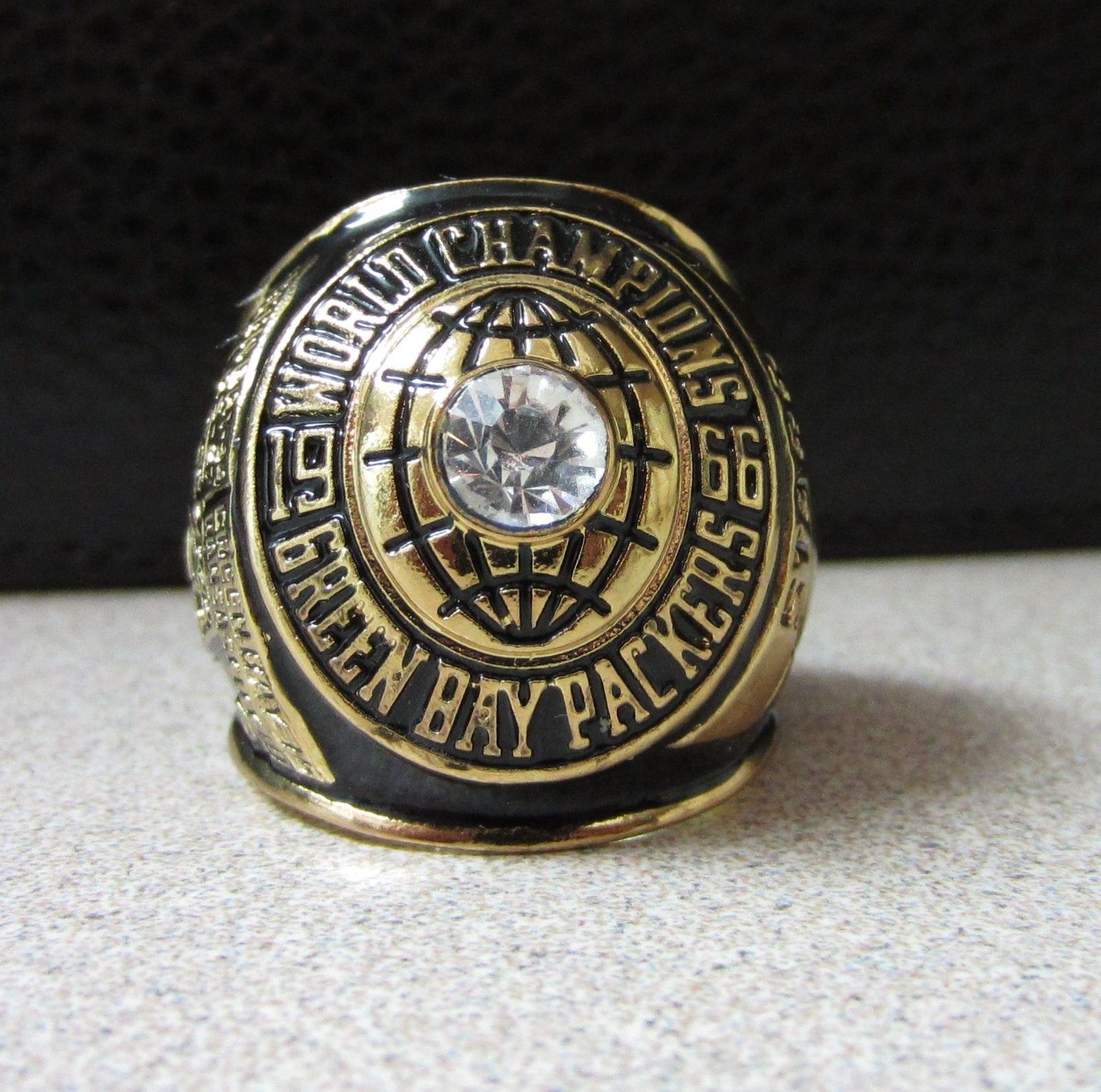 Vintage Green Bay Packers 1966 Replica Super Bowl Ring Starr Engraved Super Bowl Rings Green Bay Packers Green Bay