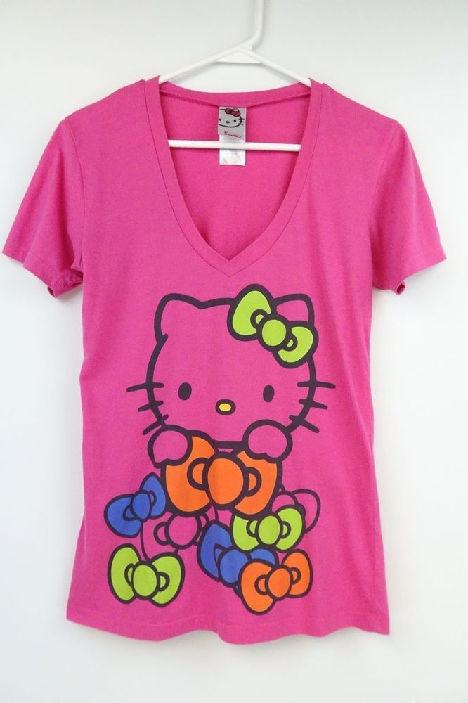 HELLO KITTY WHITE NWOT DIFFERENT SIZES TO CHOOSE FROM T-Shirt