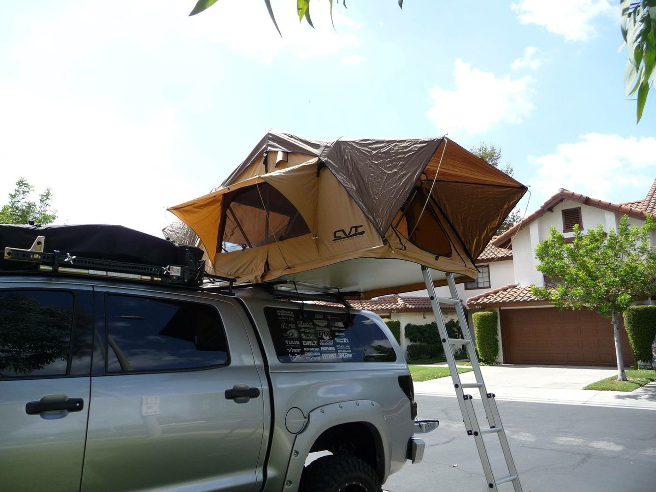 Roof Top Tent & Roof Top Tent | Mr. T 2008 Toyota Tundra Truck Build | Pinterest ...