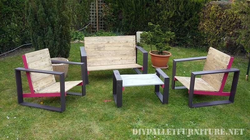 Designermöbel Für Ihren Garten Mit Paletten 1 Palettensessel