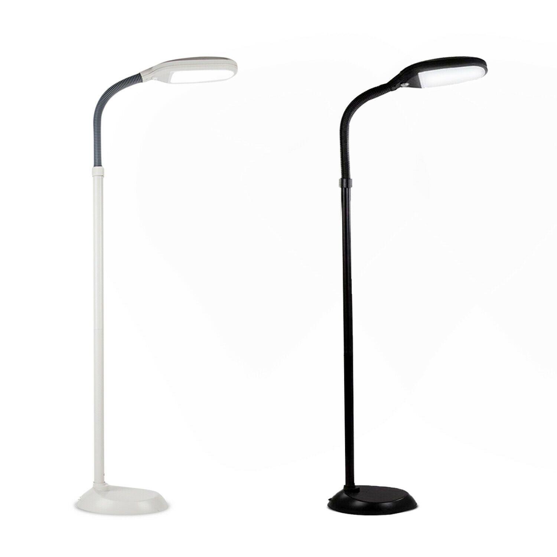 Led Floor Lamp Reading Light Standing Adjustable Flexible
