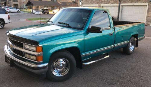 1995 Chevrolet Silverado 1500 Pickup Truck Old Trucks For