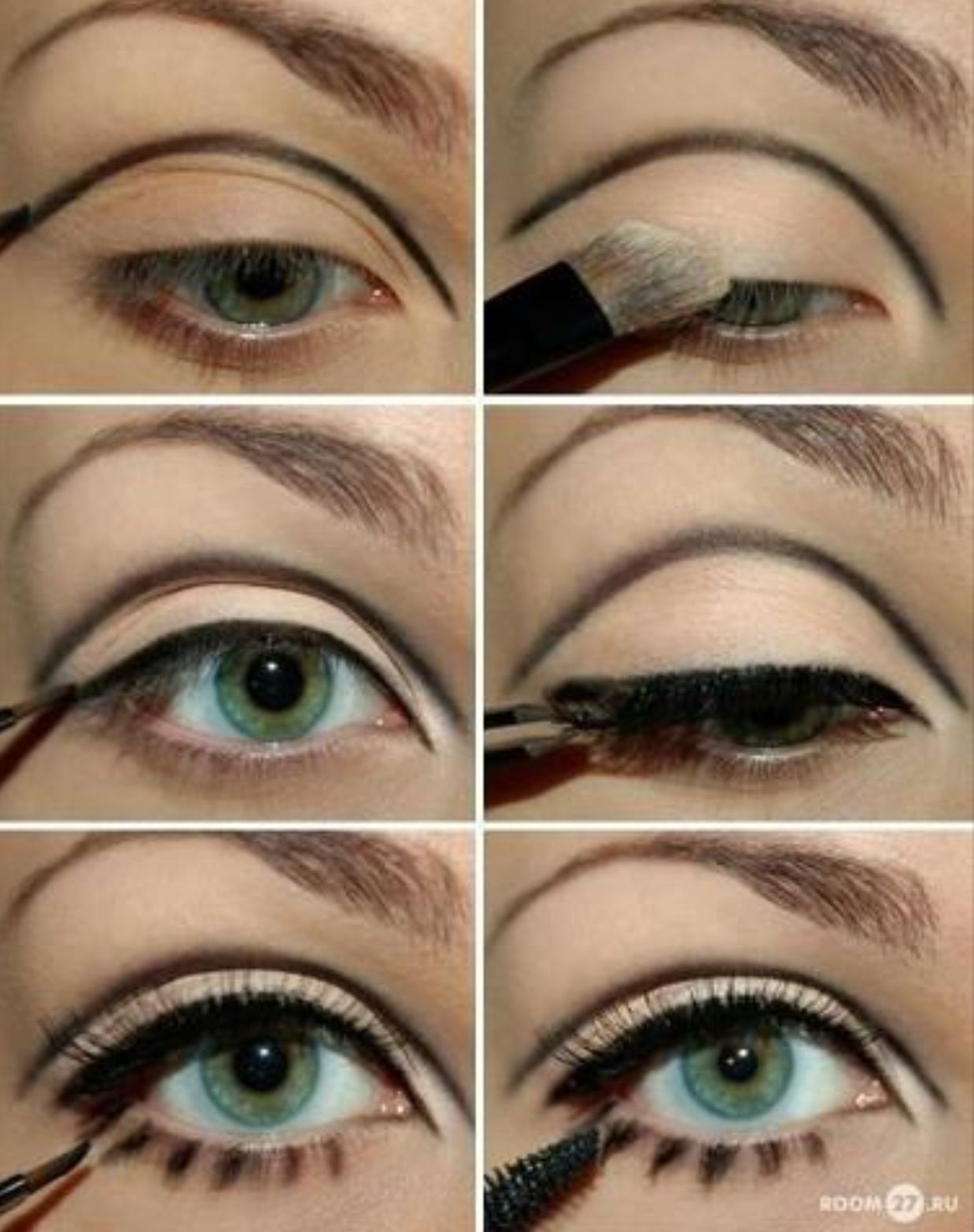 7 Different Ways To Wear Eyeliner With Images Doll Eye Makeup
