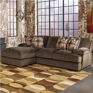 Signature Design By Ashley Truscotti Cafe 2 Piece Sectional Sectional Sofa With Chaise Large Sectional Sofa Sectional Sofa