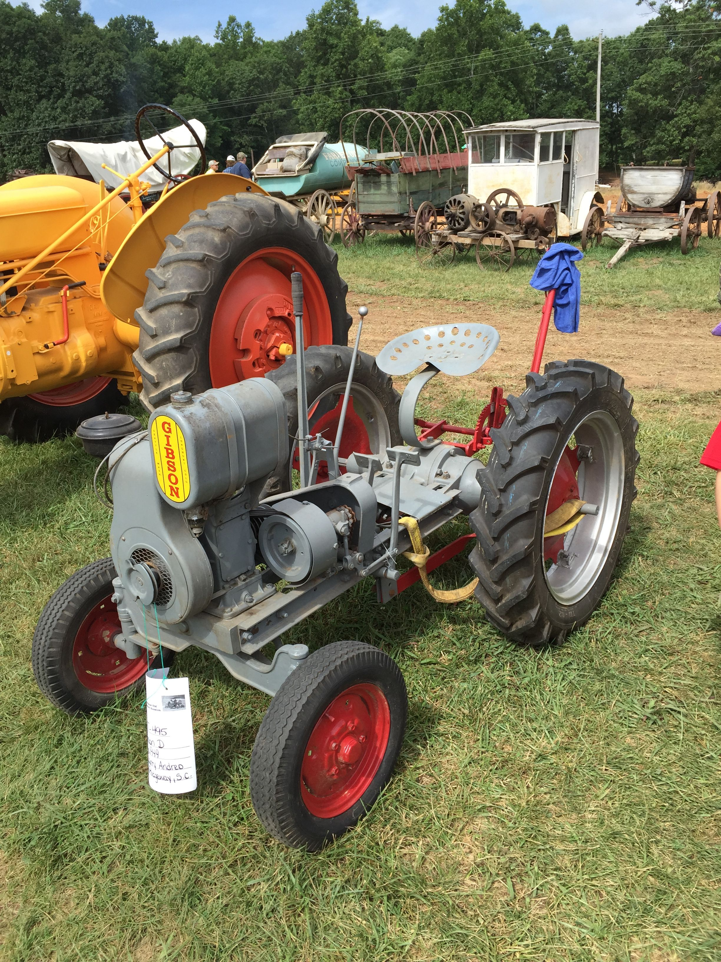 Apologise, Small garden tractors vintage or antique attentively would