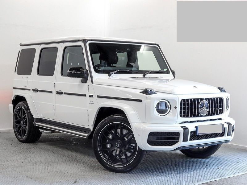 2019 Mercedes G63 Amg Presented In The Very Rare Polar White With