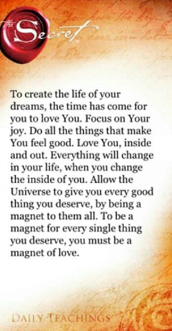 Love Yourself First Law Of Attraction Secret Law Of Attraction Secret Quotes