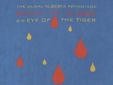 Rural Alberta Advantage Covering Survivor Eye Of The Tiger Tiger Eye Cool Bands Me Me Me Song