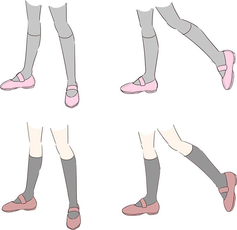 初心者の「なぜか上手く描けない」を解決!足の描き方
