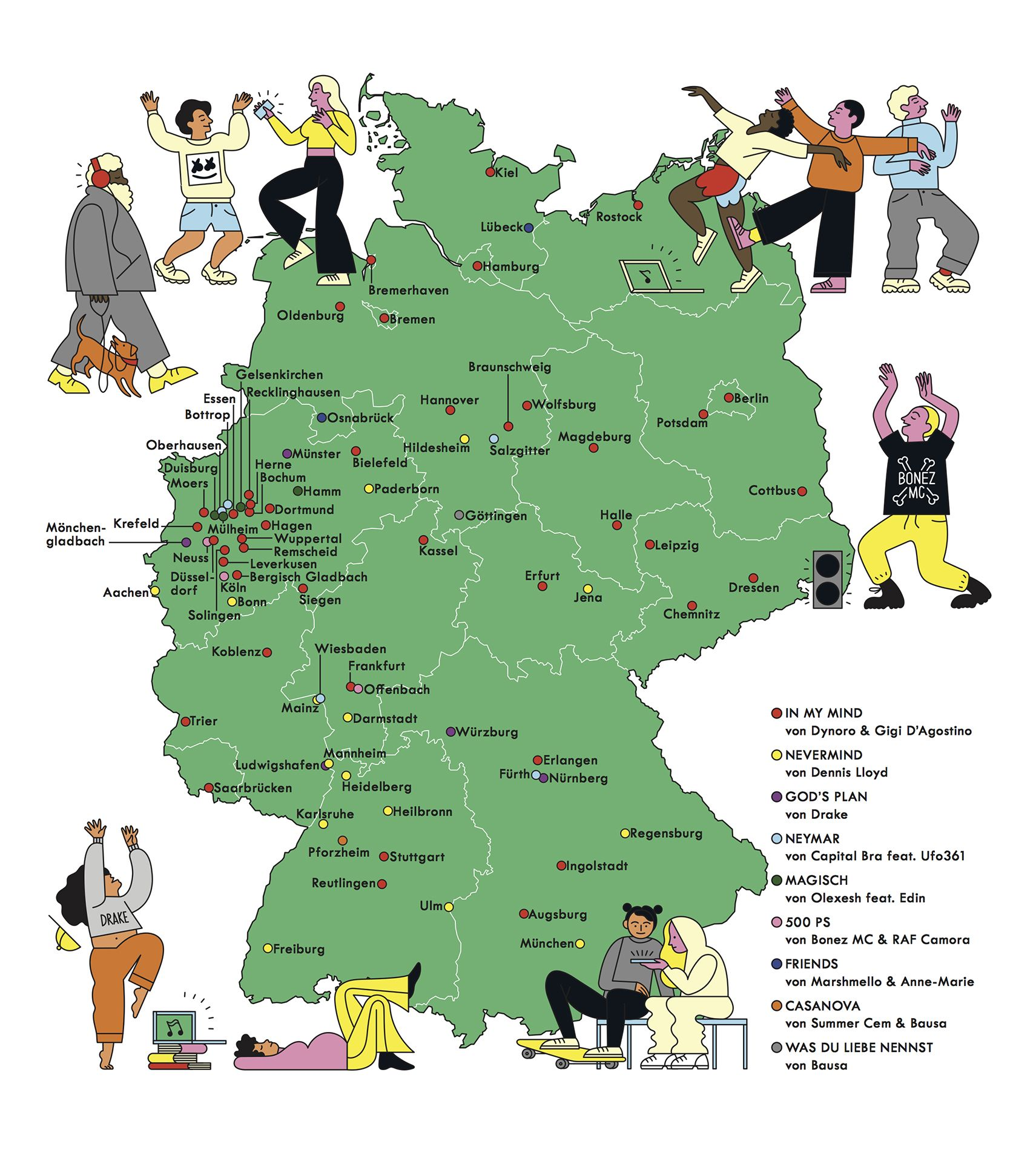 01 Deutschlandkarte Lieblingslieder Movie Posters Poster Movies
