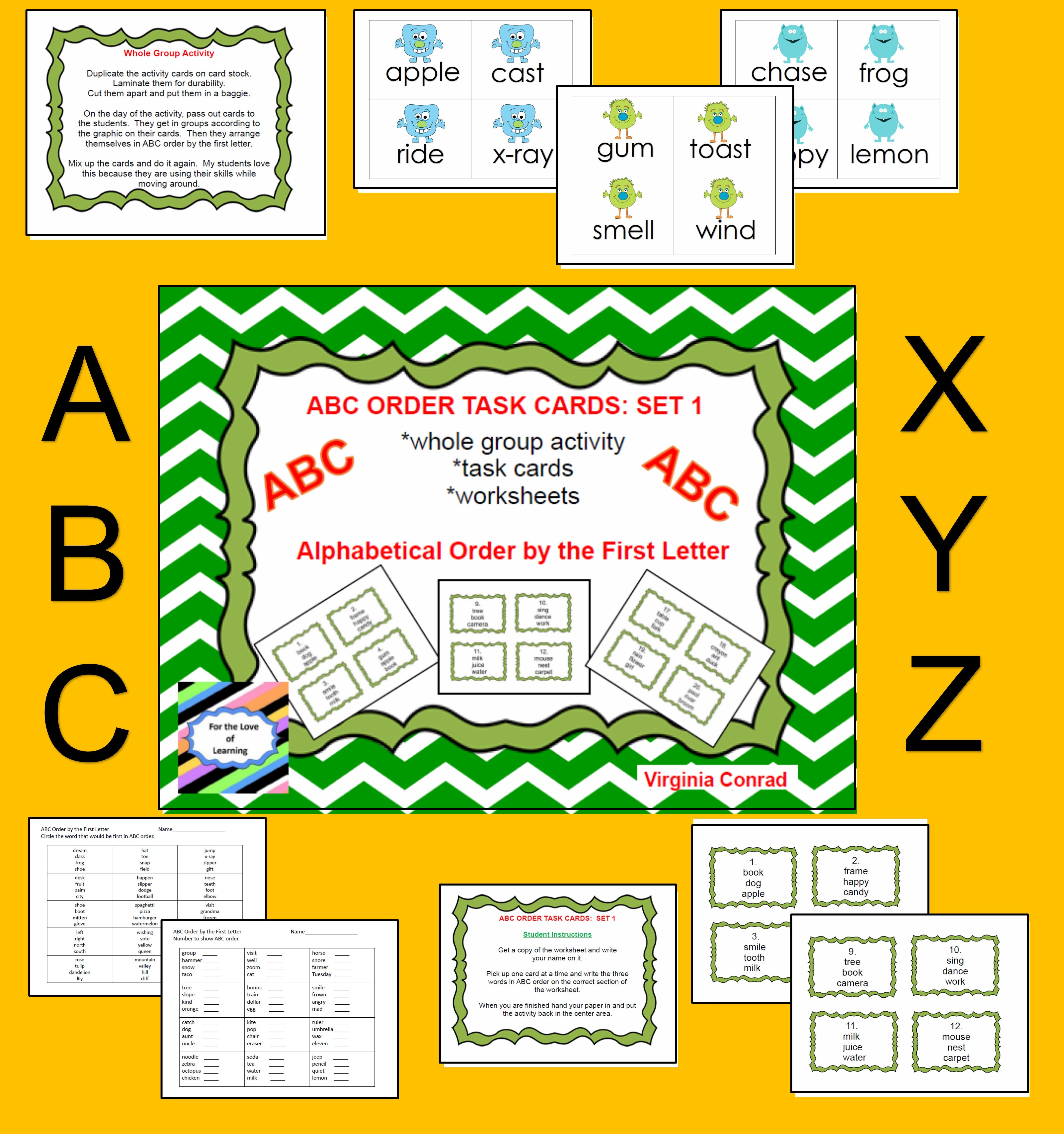 Whole Group Activity Task Cards And Worksheets Will Get