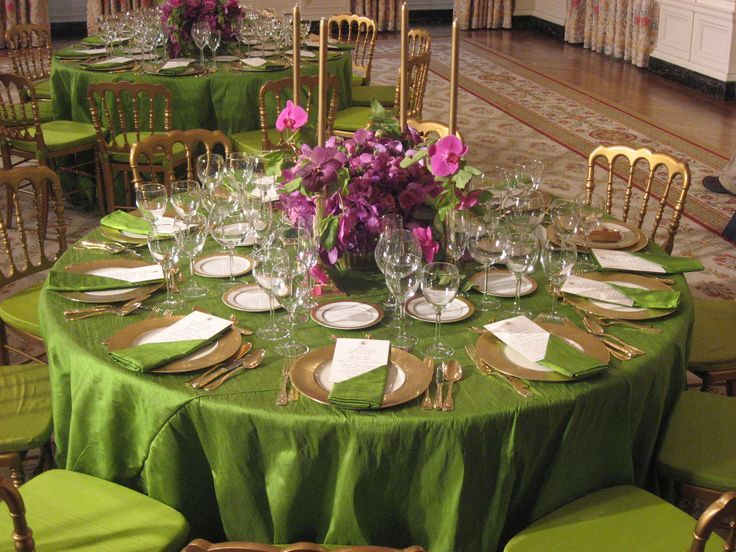 Table Settng, Serve Table, Table Chic, Set The Table, Usa Table ...