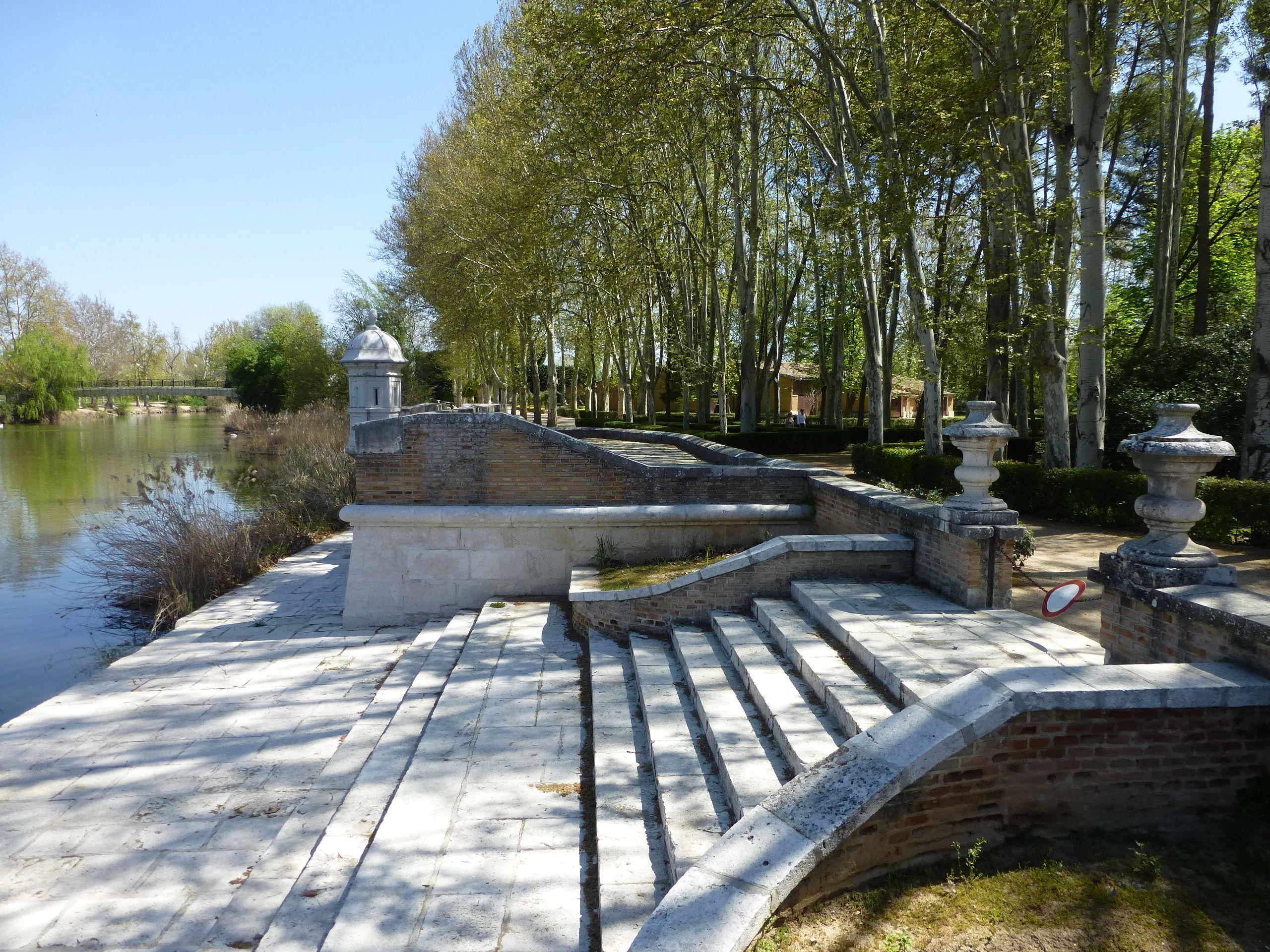 Embarcadero Real, Jardines del Príncipe, Aranjuez, Madrid