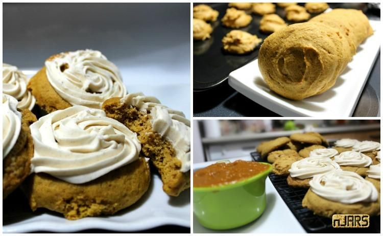 Frosted Pumpkin Spice Cookies | It's Autumn! And you know what that means, it's time for some Fall goodies - sugar and spice and everything nice for the Fall ba...