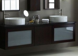 Wall Mounted Double Bathroom Vanities For The Highest Level Of