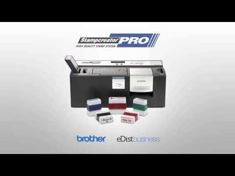 eDist Presents: Brother StampCreator Pro SC2000-USB - YouTube