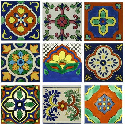 Mexican Decorative Tiles Classic Ii Ceramic Mexican Tile Collection  Tile Design Mexicans
