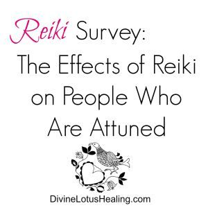 Reiki Survey: The Effects of Reiki on People Who are Attuned