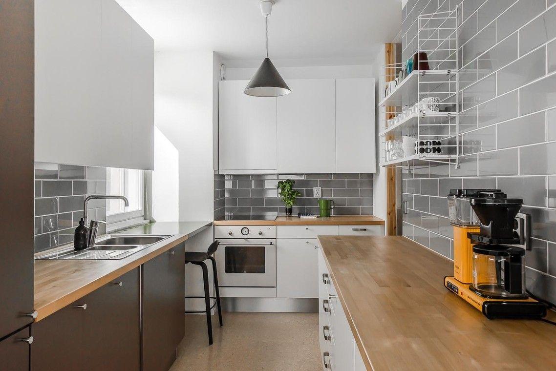 Tiililadotut seinälaatat keittiössä - Etuovi.com Ideat & vinkit