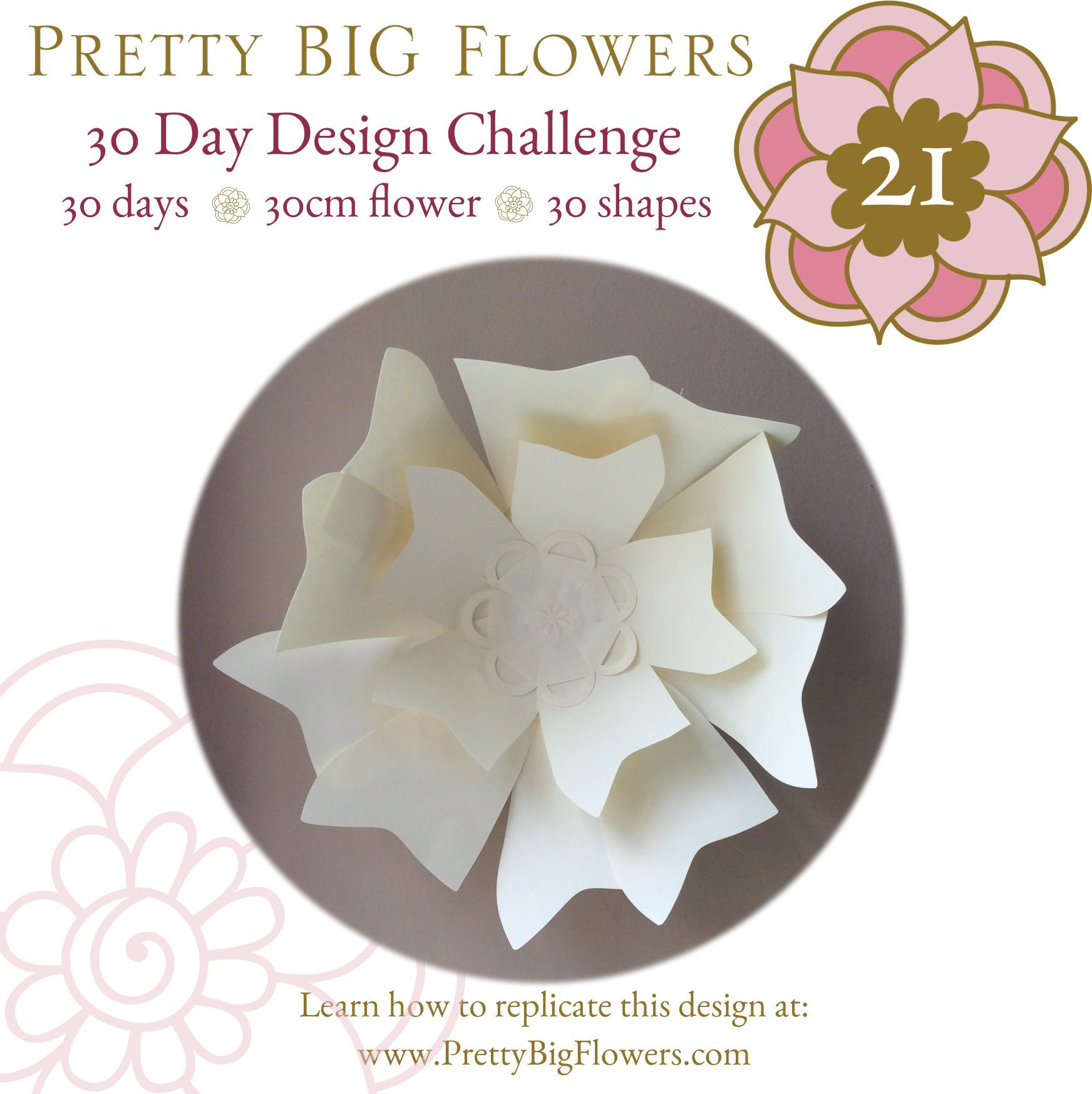 30 Day Challenge Day 21 Giantpaperflowers Paperflower