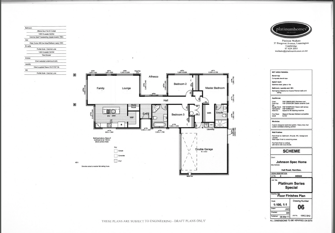 This Platinum Homes® custom designed plan combines many great ...