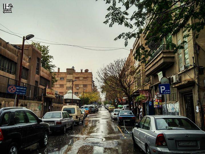 جادة تالتة المهاجرين في 27 12 2016 Mohajreen Damascus On 27 12 2016 Syria Damascus دمشق سوريا عدسة شاب دمشقي Street View Photo Scenes