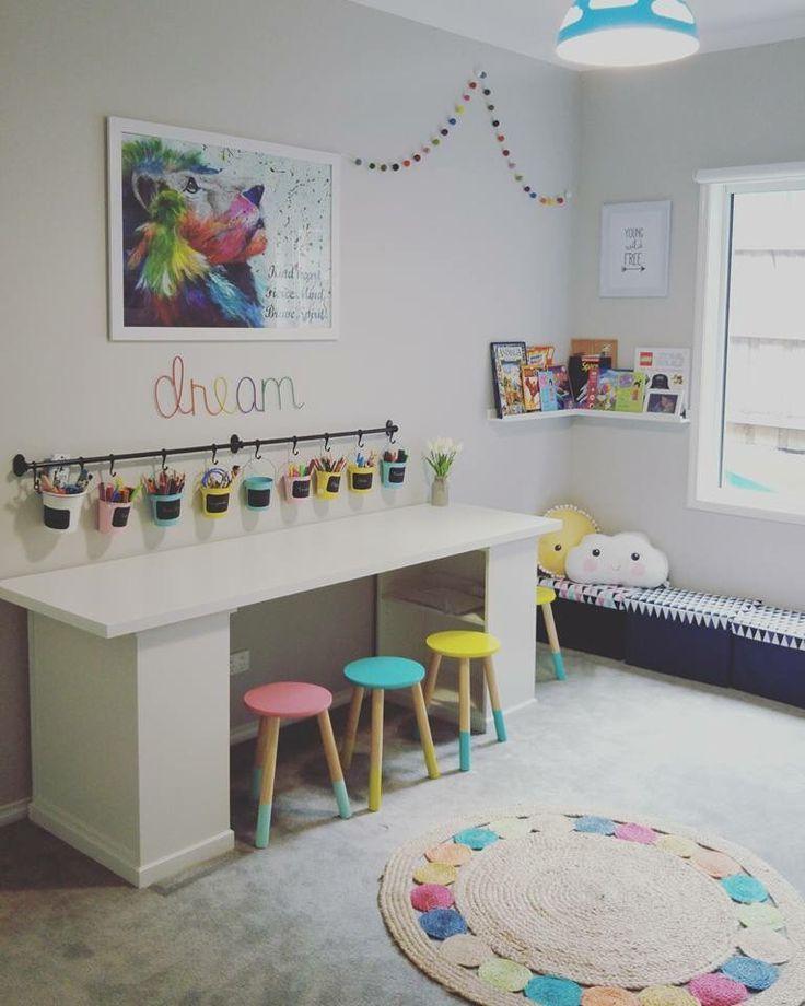 IKEA Spielzimmer Kunstzimmer für Kinder