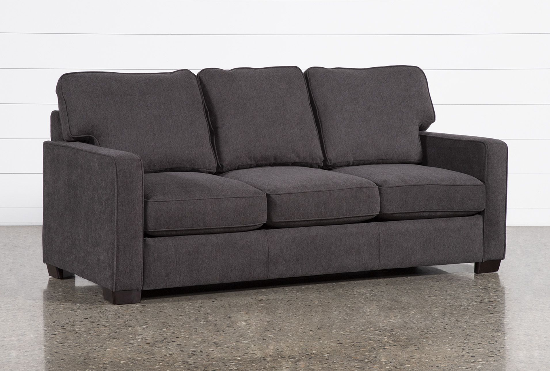Morris Charcoal Queen Sleeper Sofa With