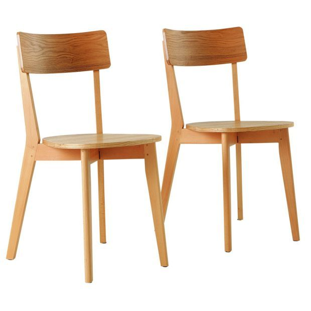 Buy Hygena Pair Of Retro Dining Chairs At Argos Co Uk Your
