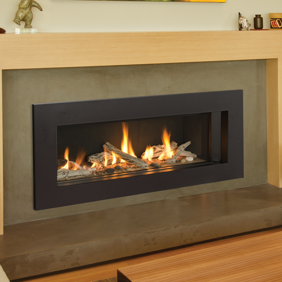 L2 Linear Series Zero Clearance Fireplaces Are Designed For Applications As New Fireplace In