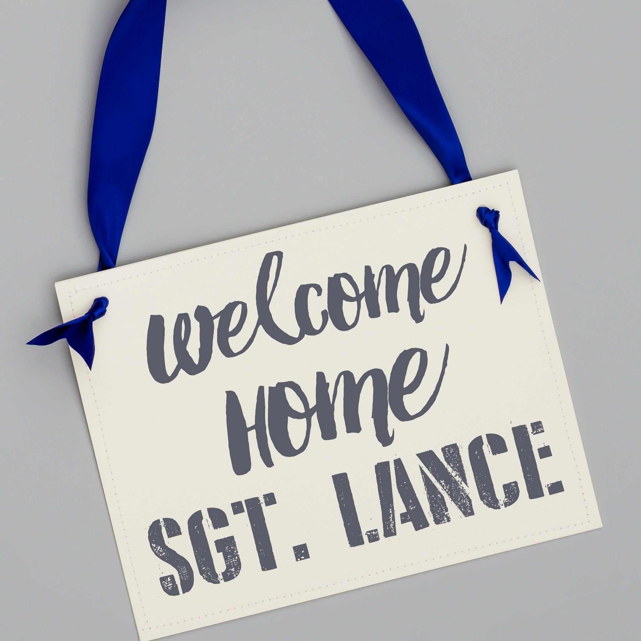Welcome Home Soldier Military Homecoming Sign | Military homecoming ...