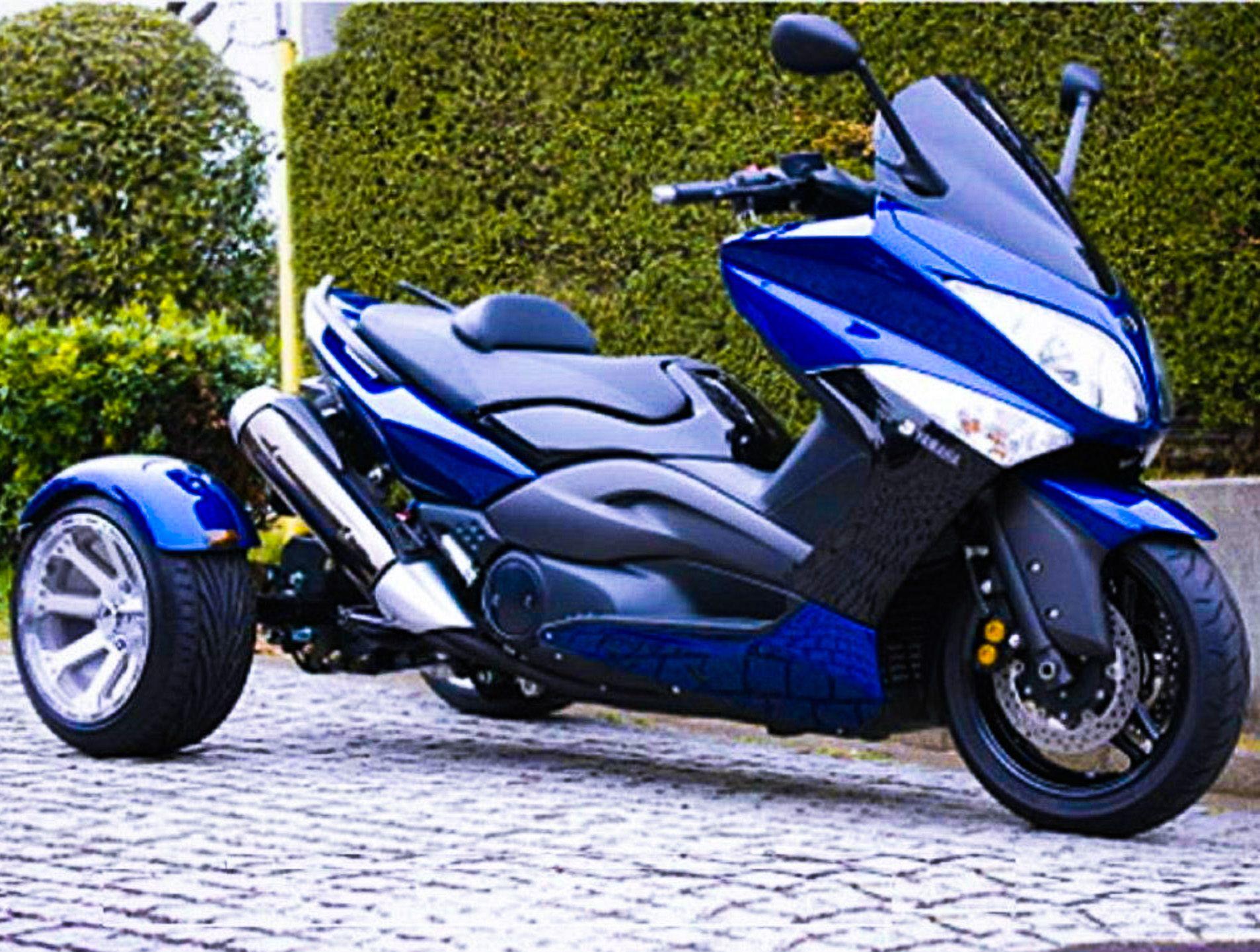 Yamaha T Max 500 Trike Http Scooter Station Com Yamaha Tmax 500