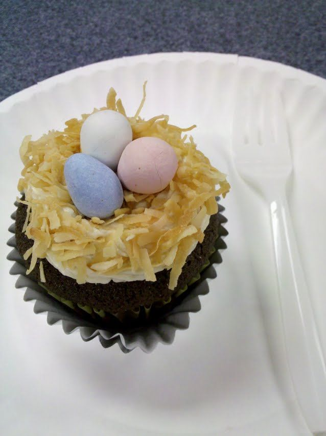 Carmel Delight flavor cupcake!