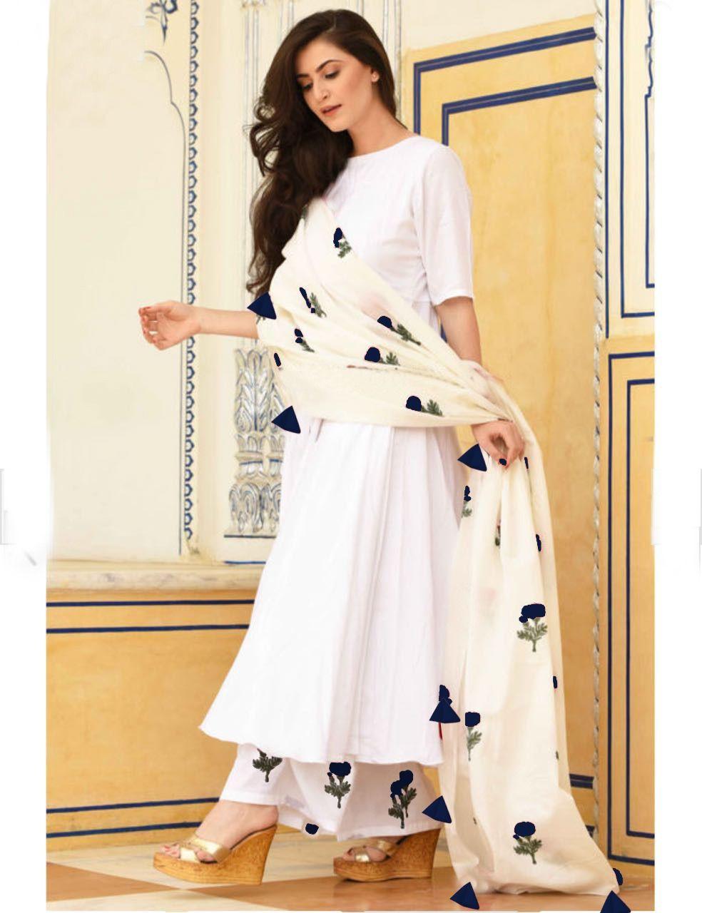 07af3d1e1d Rutba Khan White Vol 7 Non Catalog Readymade Rayon Cotton Suits Wholesaler  Surat