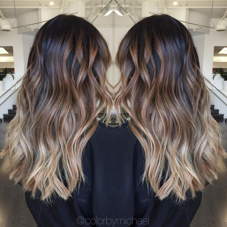 272 Likes, 12 Comments , Orange County Hair Colorist (@colorbymichael) on Instagram \u201cBalayage ombre on level 1 asian hair\u201d